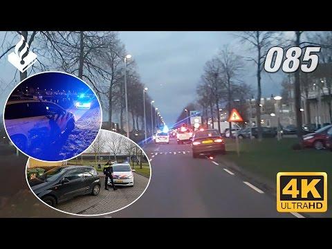 Politie achtervolging. Dienst samen met de politiestudent👮. Deel 1. 4K