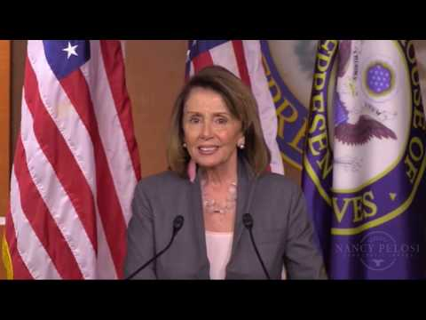 Download Youtube: Nancy Pelosi  press conference on President Trump's latest Actions