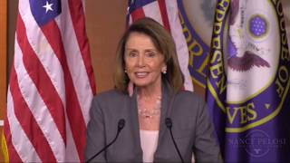 Nancy Pelosi Reacts & SLAMS Trump at her press conference