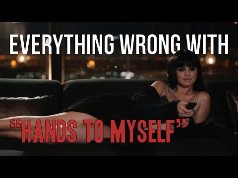 Everything Wrong With Selena Gomez   quotHands To Myselfquot Poster
