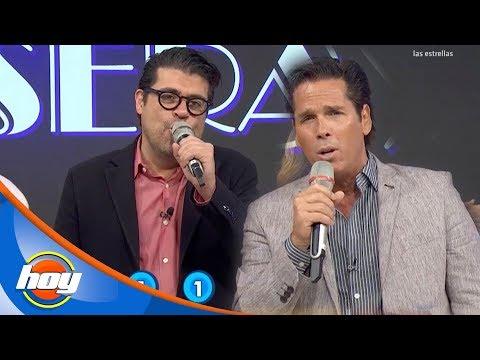 ¡Roberto Palazuelos y 'Burro' Van Rankin recuerdan a Luis Miguel! en 'Canta la palabra' | Hoy