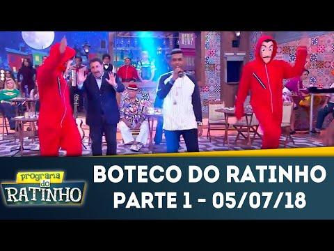 Boteco Do Ratinho - Parte 1 | Programa Do Ratinho (05/07/2018)