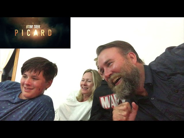 Star Trek : Picard Trailer REACTION!!!!