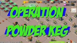 "ATTACKING OPERATIONS! ""Powder Keg"" 