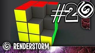 Кубик Рубика. Часть 2. Моделирование и текстурирование (Урок по 3ds Max для новичков)