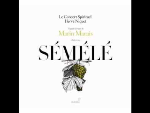 """Marais: Sémélé: 12. Prologue: Symphonie Tendre et Récit """"Quel Bruit Nouveau"""""""