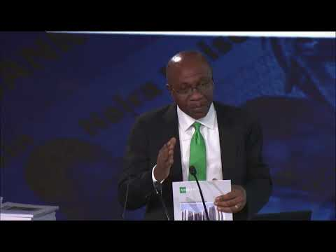 Godwin Emefiele Launches Afrinvest 2017 Banking Sector Report at the LSE