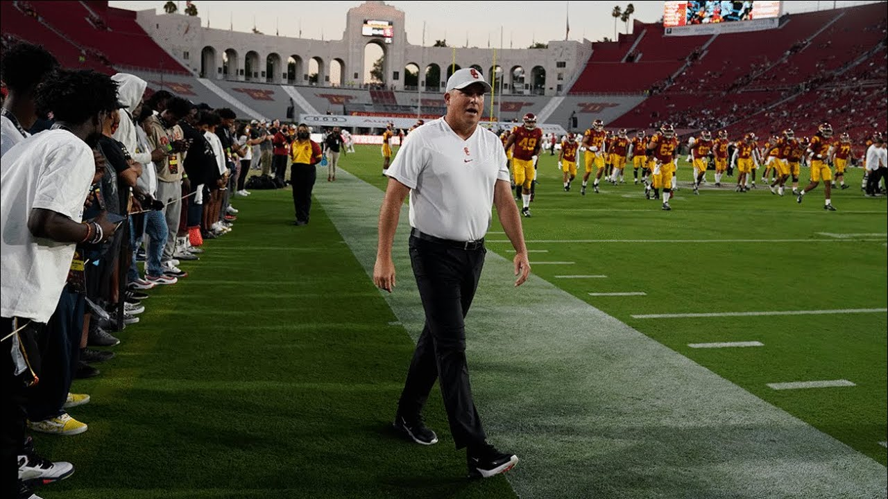 USC fires Clay Helton 2 games into 7th season in charge