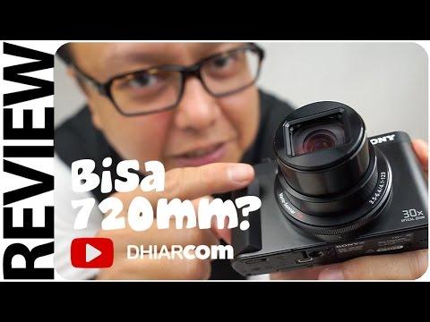 Review Sony Cyber-shot DSC-HX90V, Kamera untuk Vlogger dan Traveler