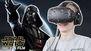 DARTH VADER IN VIRTUAL REALITY! | Star Wars: Hunting of the Fallen (HTC Vive 360° Fan Film)
