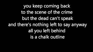 Three Days Grace - Chalk Outline (official lyrics video)
