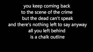 Three Days Grace - Chalk Outline (official lyrics video)
