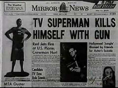 Death of Superman George Reeves