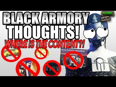 Destiny 2 Black Armory Thoughts (Chibi Hour) IS THIS IT?! thumbnail