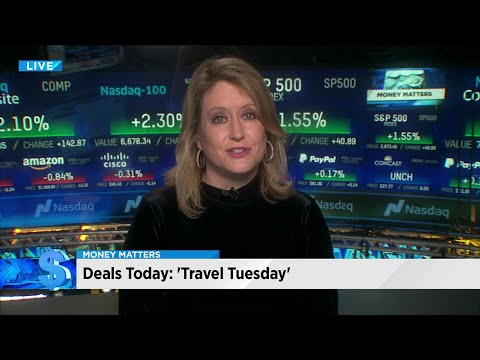 Money Matters: Travel deals on 'Travel Tuesday'