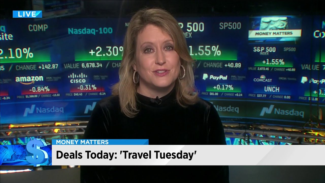 Money Matters Travel Deals On Travel Tuesday Youtube