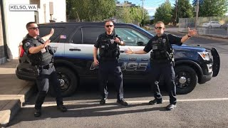 Police lip-sync battles going viral