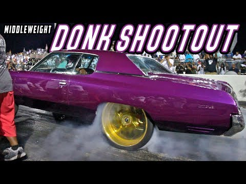$8000 MIDDLEWEIGHT DONK SHOOTOUT (Unpredictable Ending!)  @ Battle of the Heavyweights Grudge Race