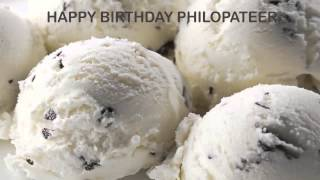 Philopateer   Ice Cream & Helados y Nieves - Happy Birthday