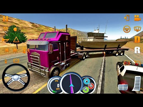 Truck Simulator USA #13 CRAZY DRIVER! 😂🤣 - Truck Games Android IOS Gameplay #truckgames