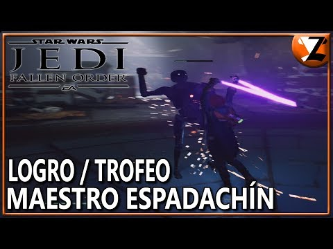 Star Wars Jedi: Fallen Order - Logro / Trofeo Maestro Espadachín (Blade Master) [Maestro Del Sable]