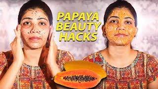 Best Beauty Benefits of Papaya! | Nature Nurture