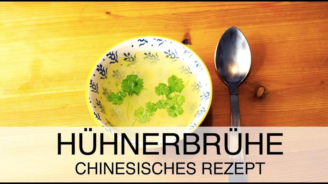 Wie man Hühnerbrühe selber macht / Chinesisches Rezept / Basis einer ...