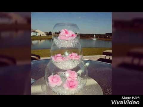 Centros de mesa con flores naturales todo para tu fiesta - Decoracion de jarrones con flores artificiales ...