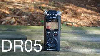Tascam DR05 Review