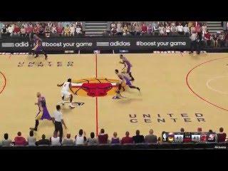 NBA 2K15 Los Angeles Lakers Vs Chicago Bulls 25-12-2014