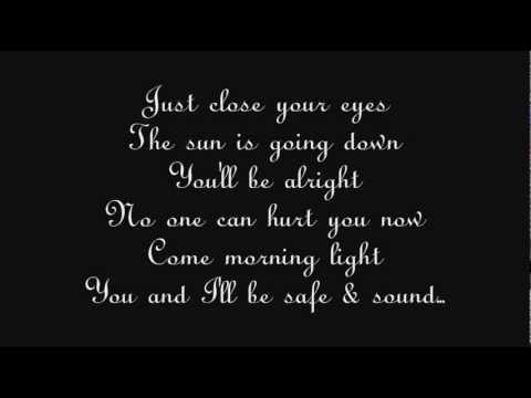 Taylor Swift (ft. The Civil Wars) - Safe And Sound - Lyrics HQ