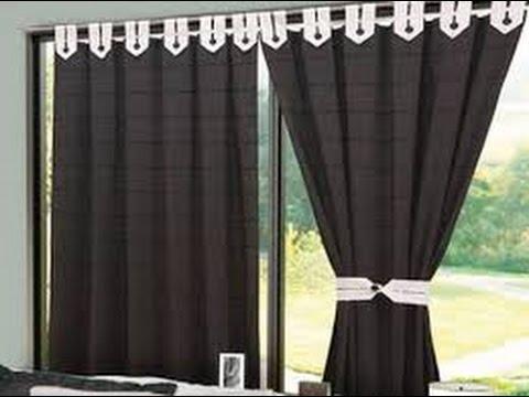 Como hacer cortinas para sala youtube for Modelos de cortinas para salas