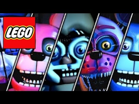 How To Build All Animatronics Five Nights At Freddys