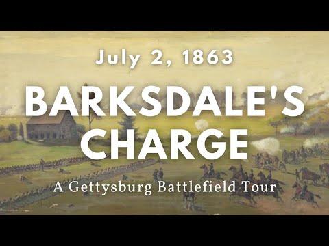 Gettysburg Battlefield Tour: Barksdale's Mississippi Brigade (Second Day)