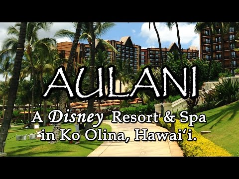 Aulani, A Disney Resort & Spa in Ko Olina, Oahu Hawaii