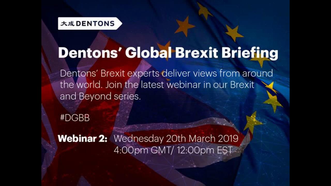 Dentons - Brexit