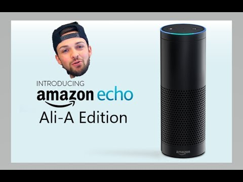 Amazon echo: AliA EDITION