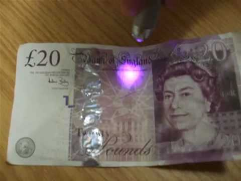 thames valley police how to spot a fake 20 note youtube