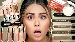 Download What's NEW at the DRUGSTORE! Foundation, Concealer, Mascara, Brows?! Mp3 and Videos