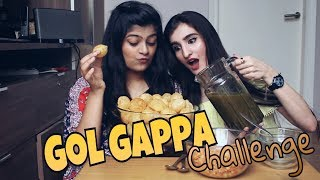 hot spicy panipuri eating challenge