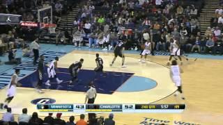 Minnesota Timberwolves vs Charlotte Bobcats   March 14, 2014   NBA 2013-14 Season