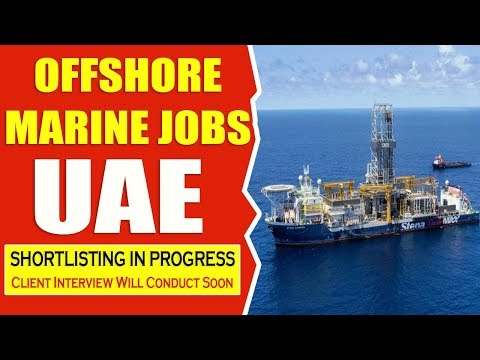 Offshore Marine Jobs in UAE | Urgent Job Recruitment | Apply Now