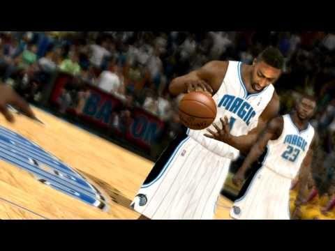 NBA 2k11 Gilbert Arenas Orlando Magic 2010-2011