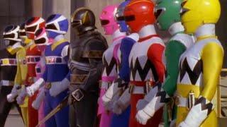 Power Ranger La Galaxia Perdida  y Space team-up vs Psycho Rangers