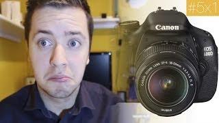 Nueva cámara Canon 600D - Unboxing y primeras impresiones
