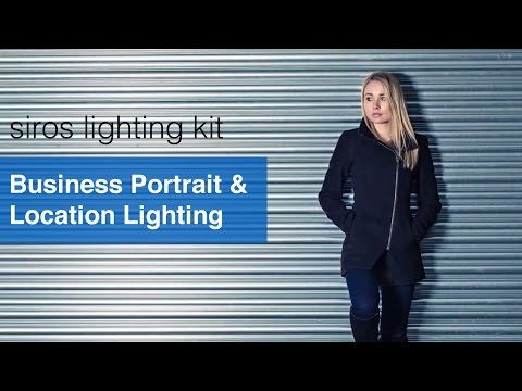 Business Portrait & Location Lighting - Broncolor Siros Lighting Kit Review.