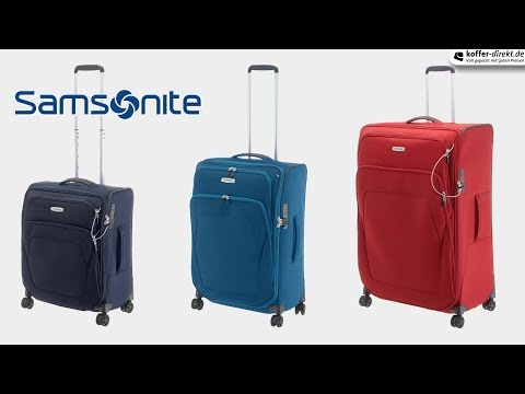 a7254c53464 Samsonite - Spark SNG 4-Rollen-Trolley | koffer-direkt.de - YouTube