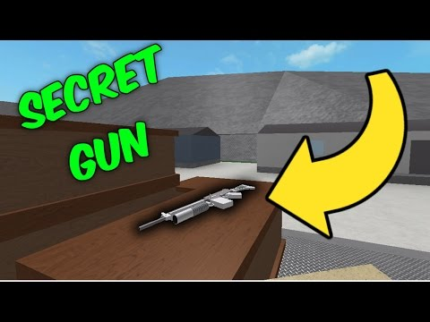 THE SECRET GUN IN PRISON LIFE V2.0 HAS BEEN FOUND!