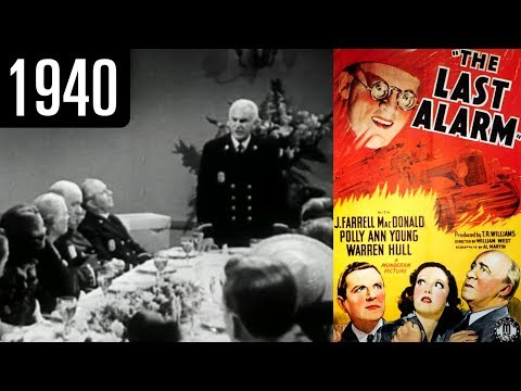 The Last Alarm - Full Movie - GOOD QUALITY (1940)