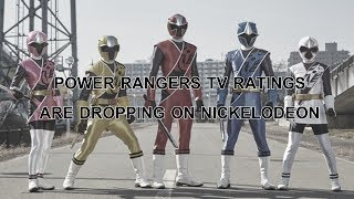 Power Rangers TV Ratings Are Dropping On Nickelodeon